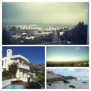 Villalta kauniit, joksenkin sateiset ja pilviset näkymät.